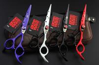 set ciseaux coiffeurs achat en gros de-6.0 Pouces Ciseaux De Coiffure Barber Cheveux De Coupe Cisailles Set Outil De Salon De Coiffure Avec Haute Qualité