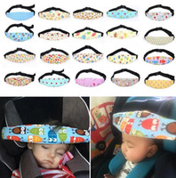 ingrosso portabiti-Baby Infant Seggiolino auto Supporto Cintura di sicurezza Supporto per la testa del sonno Per bambini Bambino Accessori per la sicurezza del sonno Baby Care KKA2512