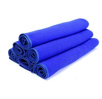 Wholesale Microfiber Car Auto Cleaning - New Practical 10Pcs Blue Soft Absorbent Wash Cloth Car Auto Care Microfiber Cleaning Towels