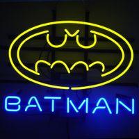 Wholesale Batman Display - Fashion New Handcraft Batman Comic Book Hero Real Glass Tubes Beer Bar Pub Display neon sign 19x15!!!Best Offer!