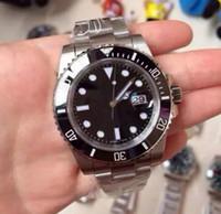 Wholesale Men S Luxury Mechanical Watch - Wholesale - 2017 Luxury AAA Watches man watches wholesale fashion watches series 116610 ln (black) mechanical men&039;s watch Wristwatch