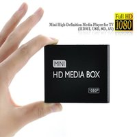 Wholesale Readers Hosting - Wholesale-2015 New Full HD 1080P Car Media Player HDMI,AV output,SD MMC Card reader USB Host Free shipping