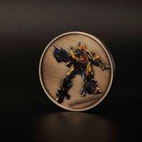 Wholesale Transformer Coin - Transformers Deceptcion Autobot Commemorative nickel plated Coin Token