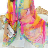 Wholesale OT New product Summer Solid Silk Scarf Women fashion Scarves Sunscreen Shawl for