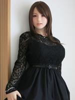sexo japonês livre brinquedos venda por atacado-Sexy manequim realista silicone bonecas sexuais realista vagina japonês boneca do amor real brinquedos sexuais infláveis para homens frete grátis