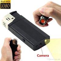 Wholesale Spy Camera Real Lighter - Full HD 1920*1080P USB Flashlight Multi Function Spy Lighter Hidden Camera LED Lamp Video Recorder Real Lighter Camcorder Mini DV DVR Cam