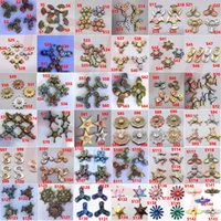 Wholesale Fingers Tin - 144 types fidget spinners fidget spinner Retro vintga dollar cent Hand Spinner Finger toys Stress Spinning Top Bayblade in metal tin
