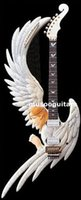 Wholesale Hand Carved Electric Guitars - Wholesale- New brand hand carved electric guitar with New Angel design