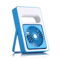 Wholesale Ion Fan - Rechargeable USB Fan Mini Desktop Air Conditioner Summer Portable Handheld Fan Air Conditioning Coole 2000AM 180 Angle Big Wind