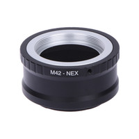 Wholesale Nex F3 - Lens mount Adapter Ring M42-NEX For M42 Lens And SONY NEX E Mount body NEX3 NEX5 NEX5N NEX7 NEX-C3 NEX-F3 NEX-5R NEX6 PRR04