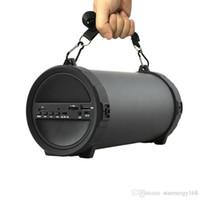 neue bluetooth lautsprecher groihandel-SKYUNION Neue Outdoor-Sportgeräte Subwoofer Bluetooth Lautsprecher Wireless 2000mAh Leistungsstarke tragbare Lautsprecher per Radio FM-MP3-Player 69-YX