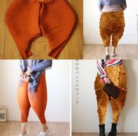 Wholesale Big Leg Pants - Fried Chicken Leg Pants Knickerbockers Loose Fancy Harem Pants Hot Gift Casual Big Size Fried Chicken Pants Baggy Pant KKA3167