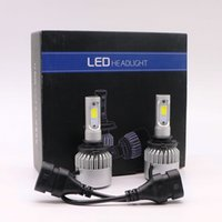 Fari per auto a LED S2 H1 H4 H7 H11 9005 9006 Lampadine per fari auto 72W 6500K Kit luci per LED All In One Compact Design