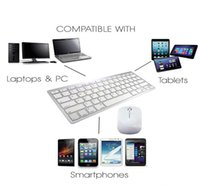 Wholesale keyboards mice for apple for sale - Group buy Ultra Thin Wireless Keyboard Mouse Combo G Wireless Mouse for Apple Keyboard Style Mac Pc WindowsXP Tv Box