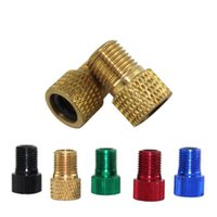 Wholesale Gas Pumps For Bikes - Colorful The Gas Nozzle Bicycle Pump Up Nozzles High Quality Popular For Outdoor Mountain Bike Parts Hot Sell 0 7jt A