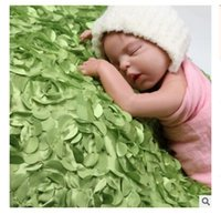 Wholesale Baby Shooting - Baby Blankets Newborn Rose Photography Background Clothes Children Photography Props Baby Photo Studio Shooting Blankets Christmas Gifts