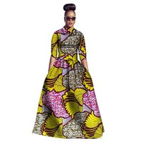 Wholesale Costume National Dresses - 2017 Traditional African American African Dashiki Dresses Limited Real Women Robe Africaine Batik Cotton National Costume