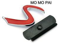 эмблема мини-автомобиля оптовых-3D стайлинга автомобилей S логотип автомобиля передняя решетка гриль эмблема подходит для mini cooper