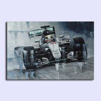 Wholesale Canvas Hd Paintings - Lewis Hamilton II,Home Decor HD Printed Modern Art Painting on Canvas (Unframed Framed)