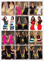 Wholesale Babydoll Mix Styles Clubwear - Fashion New Babydoll Mix Styles Clubwear Ladies Sexy Lingerie Sexy Dress with G-string High Quality Sexy Clubwear Party Cocktail