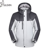 Wholesale Waterproof Mens Parka - Wholesale- Plus size for mens casual parka coats with hooded for winter season waterproof and windproof WQ9901