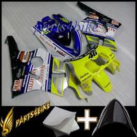 ingrosso nc29-Cappuccio moto giallo limone per HONDA NC29 1990 1994 NC29 90 94 Carenatura in plastica ABS