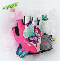Wholesale Women S Mountain Bike Gloves - Fashion Women Cycling Gloves 2017 MTB Fitness Female Sport Full Finger Polyester Bike Gloves Outdoor Mountain Road Bicycle Gloves Best
