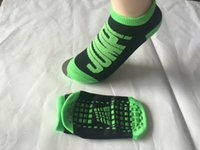 Wholesale Cycle For Children Wholesaler - HOT SELLING!Fashion sport trampoline socks for child adul's The silicone antiskid socks Breathable absorbent sock XS,S,M,L,XL,XXL wholesale