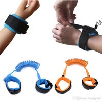 Wholesale Toddlers Harness Reins - Toddler Kid Baby Safety Anti-lost Strap Link Harness Child Wrist Band Belt Reins 1.5M .2M.2.5M 3 Colors NAA016