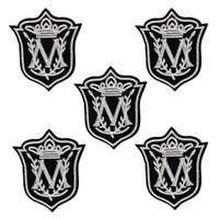 broderie personnalisée achat en gros de-Patch de style Badge personnalisé pour vêtements fer brodé patch appliques fer sur patchs à coudre accessoires pour vêtements 10pcs / lot