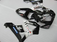 etiketli etiket kitleri toptan satış-Honda CBR900RR için enjeksiyon kaporta kaporta kiti 00 01 batı sticker siyah kaportalar seti CBR929RR 2000 2001 OT35