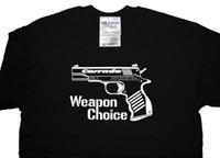 Wholesale Option Choices - New Tops 2017 Print Letters Men T-Shirt VW Volkswagen Corrado VR6 G60 GTI Weapon Choice T Shirt T-shirt - ALL OPTIONS