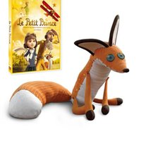 Wholesale Prince Toys - The Little Prince Fox Plush Dolls 40cm 60cm le Petit Prince stuffed animal plush education toys for baby kids Birthday Xmas Gift