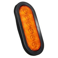 Oval Oblong Led Stop Turn Luce di chiusura Sealed Surface Mount Camion rimorchio 3 colori