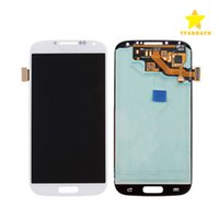 Para Samsung Galaxy S4 I9500 Visor LCD Touch Screen Digitizer Touch Panels Assembly Replacement Repair Grade A +++