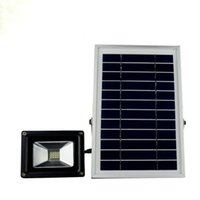 reflectores cuadrados blancos al por mayor-N500 Cool White Warm White Solar Power LED Floodlight Outdoor Garden Street Impermeable Solar Spot Light