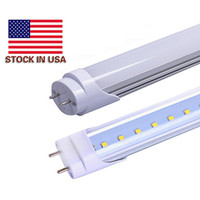 Wholesale Natural Tube Lighting - Super Bright 22W 2200lm T8 G13 Led Tube Lights 4ft 1.2m 1200mm Led Fluorescent Lamp AC 110-277V Warm Natural Cool White + UL