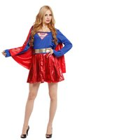 Kukucos Sexy Supergirl Superwomen Superman Superhero Взрослый костюм для Хэллоуина Cosplay Party Club Dress Uniforms