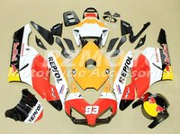 Wholesale Repsol Cbr - New ABS Injection Fairing kits set+seat cowl+Tank cover for HONDA CBR1000RR 04 05 CBR 1000RR 2005 2004 cbr1000rr Fairings repsol number 93