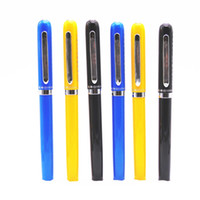 caneta nova do herói venda por atacado-Atacado-Hero 9026 All Color caligrafia para exame Fine Nib Fountain Pen Novo