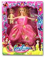 Wholesale Doll Dress Baby Girl - Fashion Series Beauty Girls Beautiful Fashion Doll and Dress gift set #257990