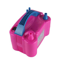 Wholesale Electric Air Balloon Pump Inflator - Wholesale-Shipping double air pump enduring as the universe advertising balloon inflator pump electric pump electric balloon