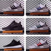 Wholesale America Asia - EQT Cushion ADV 91 17 men women Running Shoes Triple Core Black White Red Blue green North America Europe Asia sports sneakers size36-44