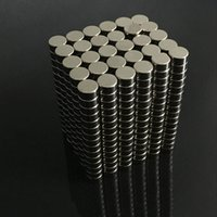 Wholesale mm x mm Super Strong Neodymium Magnets Disc Cylinder Rare Earth Permanent Magnet Powerful Magnet LH8s