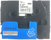 Brother p touch tape tz - Black on White Label Tape Compatible for Brother TZ TZe P Touch ft
