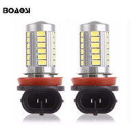 Wholesale H11 Blue Led Bulb - Super Bright Xenon White H11 H8 9006 HB4 10W 12V car fog lamp bulb led driving lighting