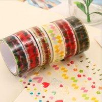 Wholesale Korean Decorative Tape - Wholesale- 2016 1 Pieces Korean Decorative Adhesive Tape Scrapbooking Tools Stickers Plastic Kawaii Diary Scotch DIY Office School Station