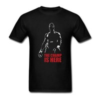 Wholesale ali shirt - Muhammad Ali The Champ Is Here T Shirt For Men