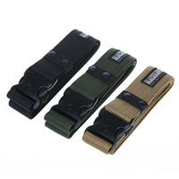 Wholesale Military Green Canvas Belt - Finest Tactical Gear Combat Train Police Duty Military Army Belt Black Hawk