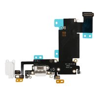 Wholesale iphone dock connector resale online - 20PCS USB Dock Connector Charger Charging Port Flex Cable for iPhone s inch s Plus inch free DHL